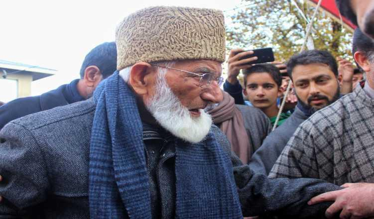 With Kashmir Under Lockdown, ISPR Running Geelani's Twitter Handle?