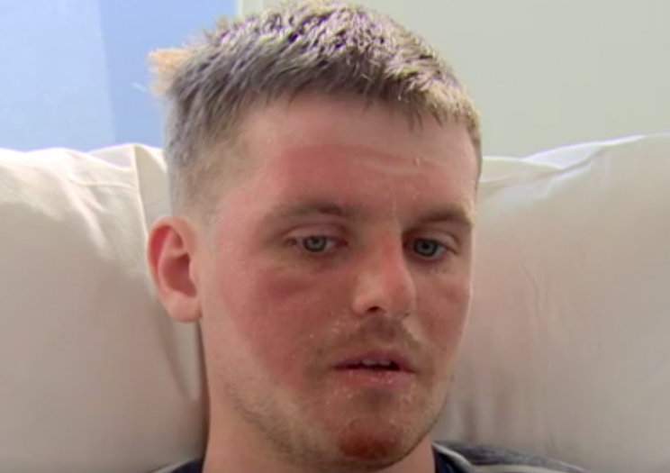Matthew Bryce revealed how he made peace with dying just before he was rescued (BBC)