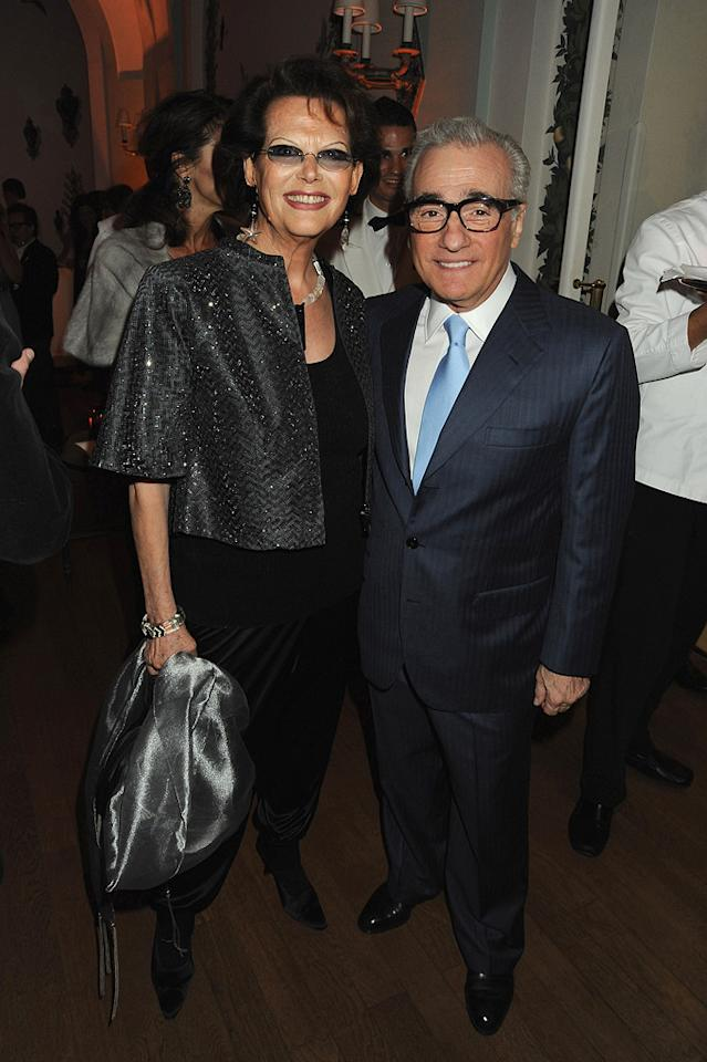 "<a href=""http://movies.yahoo.com/movie/contributor/1800011620"">Claudia Cardinale</a> and <a href=""http://movies.yahoo.com/movie/contributor/1800014966"">Martin Scorsese</a> attend the Vanity Fair and Gucci Party Honoring Martin Scorsese during the 63rd Annual Cannes Film Festival at the Hotel Du Cap Eden Roc on May 15, 2010 in Cannes, France."