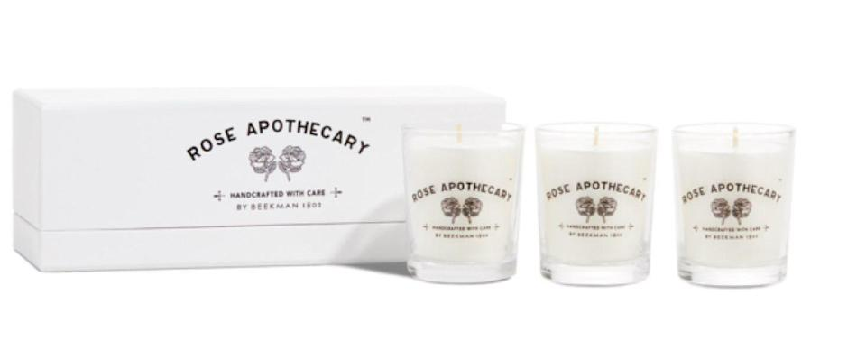 Rose Apothecary Candles