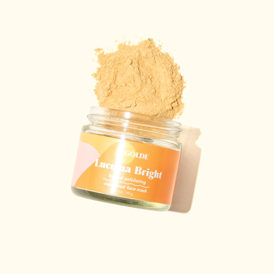 """It's 2020 — your dad should know about the benefits of exfoliating. <br> <br> <strong>Golde</strong> Lucuma Bright Face Mask, $, available at <a href=""""https://go.skimresources.com/?id=30283X879131&url=https%3A%2F%2Fgolde.co%2Fproducts%2Flucuma-bright-instant-exfoliating-face-mask"""" rel=""""nofollow noopener"""" target=""""_blank"""" data-ylk=""""slk:golde"""" class=""""link rapid-noclick-resp"""">golde</a>"""