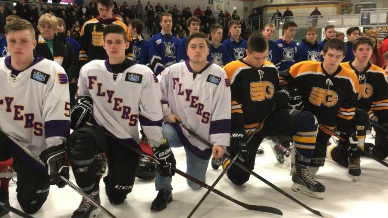 They died decades apart, but two young hockey players were honoured together in Gander tournament