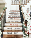 """<p>Have you ever seen a more Pinterest-worthy staircase? Recreating the look is easy—especially if you have a cutting machine at your disposal. Simply print and cut the words using removable vinyl, then stick them onto each riser. </p><p><em>See more at <a href=""""https://www.instagram.com/p/B4zxaS6nITw/"""" rel=""""nofollow noopener"""" target=""""_blank"""" data-ylk=""""slk:the.highland.home"""" class=""""link rapid-noclick-resp"""">the.highland.home</a>.</em></p><p><a class=""""link rapid-noclick-resp"""" href=""""https://www.amazon.com/Cricut-PC2004195-Maker-Champagne/dp/B072VYPWM4/?tag=syn-yahoo-20&ascsubtag=%5Bartid%7C10072.g.34479907%5Bsrc%7Cyahoo-us"""" rel=""""nofollow noopener"""" target=""""_blank"""" data-ylk=""""slk:SHOP CRICUT"""">SHOP CRICUT</a></p>"""