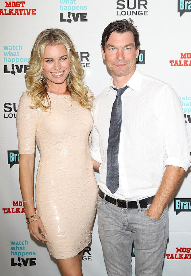 """They may not be Bravo reality stars, but Rebecca Romijn and Jerry  O'Connell are frequent guests on Cohen's """"Watch What Happens Live""""  nightly talk show. The two are admitted fans of the """"Real Housewives""""  franchise. (5/14/2012)"""