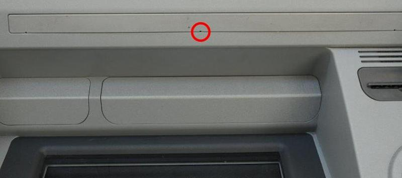 A similar device was found above another ATM in central London (City of London Police)