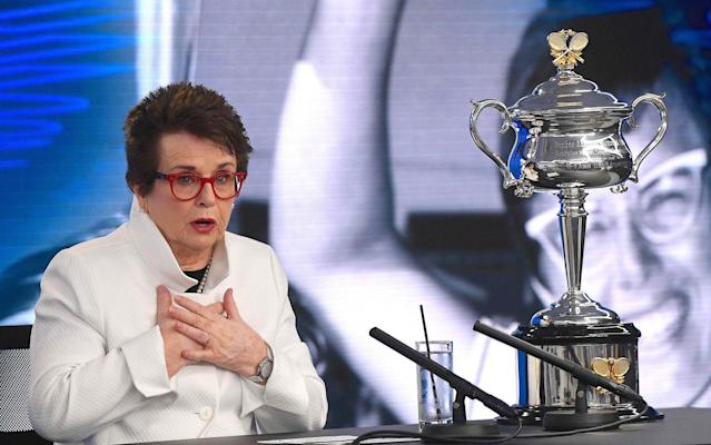Billie Jean King says Margaret Court's comments should not be overlooked - REUTERS