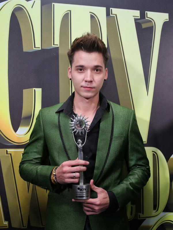 Stefan William SCTV Awards 2019. (Adrian Putra/Fimela.com)