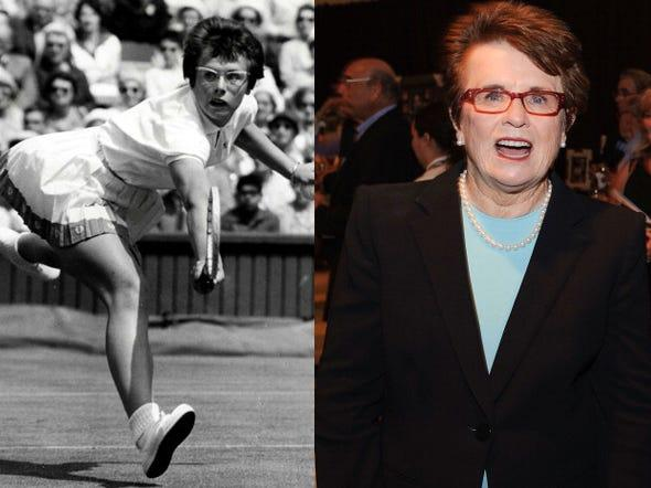 billie jean king past and present