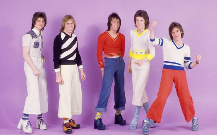 The Rollers in 1976 - Michael Ochs Archives/Getty Images