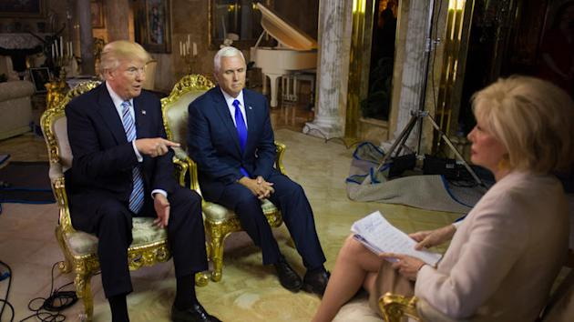 8ffc0c6a783f Awkward Donald Trump-Mike Pence  60 Minutes  Interview Dominates Morning s  RNC Coverage