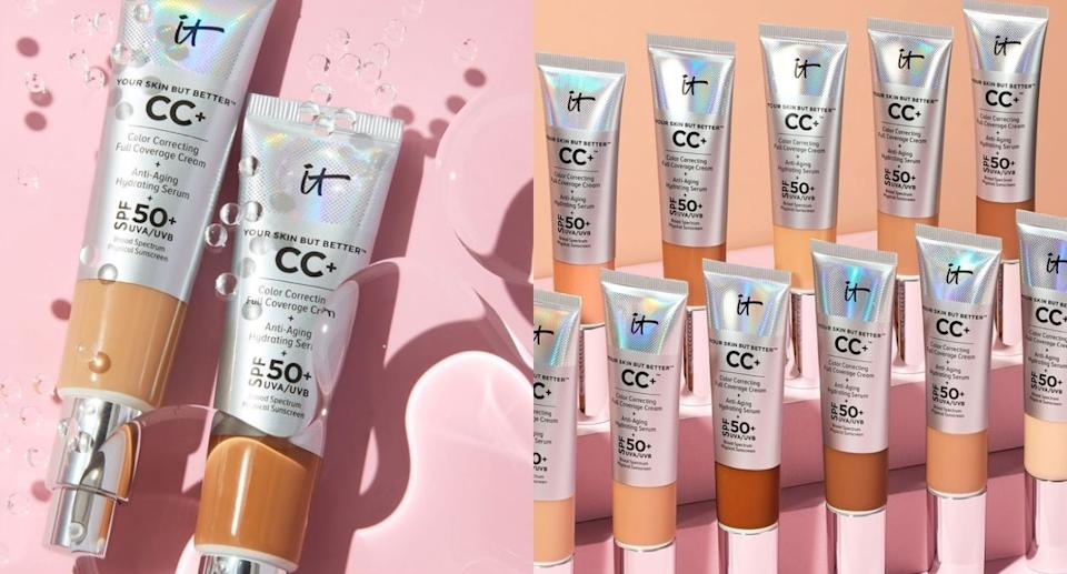 We put IT Cosmetics CC+ Cream with SPF 50+ to the test  — here are our honest reviews. (Images via Instagram/ITcosmetics)