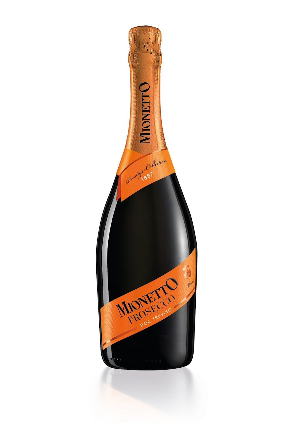 """<p><strong>Mionetto</strong></p><p>wine.com</p><p><strong>$13.99</strong></p><p><a href=""""https://go.redirectingat.com?id=74968X1596630&url=http%3A%2F%2Fwww.wine.com%2Fv6%2FMionetto-Prosecco-Brut%2Fwine%2F114238%2FDetail.aspx&sref=https%3A%2F%2Fwww.goodhousekeeping.com%2Ffood-products%2Fg33644539%2Fbest-cheap-wine-brands%2F"""" rel=""""nofollow noopener"""" target=""""_blank"""" data-ylk=""""slk:Shop Now"""" class=""""link rapid-noclick-resp"""">Shop Now</a></p><p>Another favorite of ours is Mionetto, which was founded in 1887. The brut is well-balanced, rich in fruity flavors, and perfectly dry. </p>"""