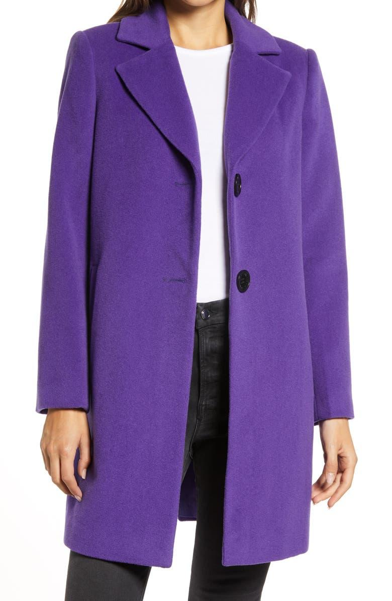 Sam Edelman Wool Blend Coat. Image via Nordstrom.