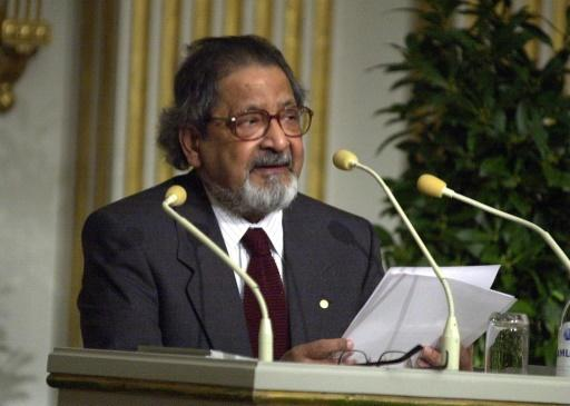 Vidiadhar Surajprasad Naipaul wrote more than 30 books and won the Nobel Literature Prize in 2001