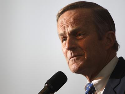 "Missouri Rep. Todd Akin apologized Monday for his televised comments that women's bodies are able to prevent pregnancies in ""a legitimate rape"" situation, but he refused to heed calls to abandon his bid for the Senate. (Aug. 20)"
