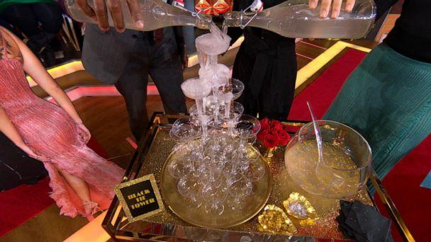 PHOTO: A Black Tie Tower is a perfect table centerpiece for an Oscar viewing party. (ABC News)