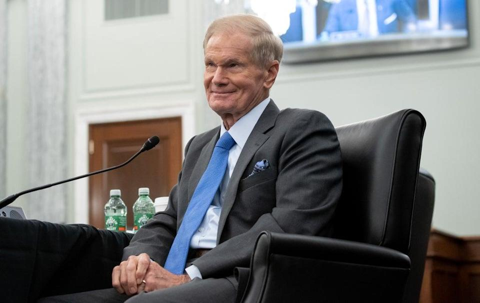 Nasa Administrator Bill Nelson when he attended Senate Committee on Commerce, Science, and Transportation confirmation hearing in April (Getty Images)