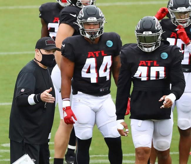 Continuity could help Falcons rebound in pandemic season