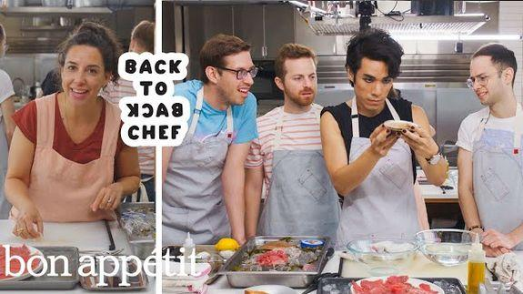 The Try Guys Face Off Against The Bon Appetit Test Kitchen
