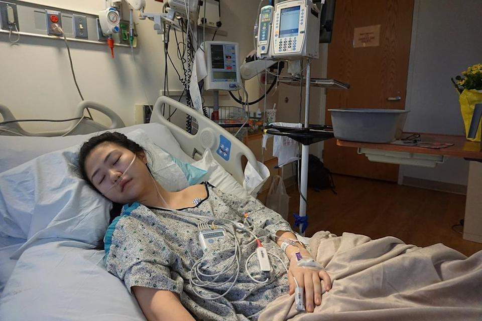 In a now-viral Instagram post, 19-year-old Claire Chung opened about her battle with the acute lung injury EVALI due to vaping. (Photo: Instagram, @clairechunggg)
