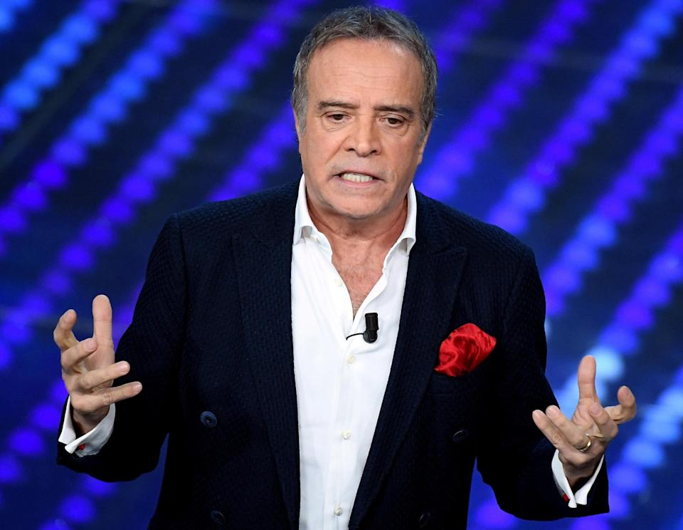 Italian actor Enrico Montesano on stage during the 67th Festival of the Italian Song of Sanremo at the Ariston theater in Sanremo, Italy, 11 February 2017. The 67th edition of the television song contest runs from 07 to 11 February.     ANSA/CLAUDIO ONORATI            (Photo: ANSA)