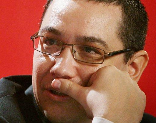 Victor Ponta, pictured in 2010, was named Romania'sas new prime minister after the collapse of the centre-right government