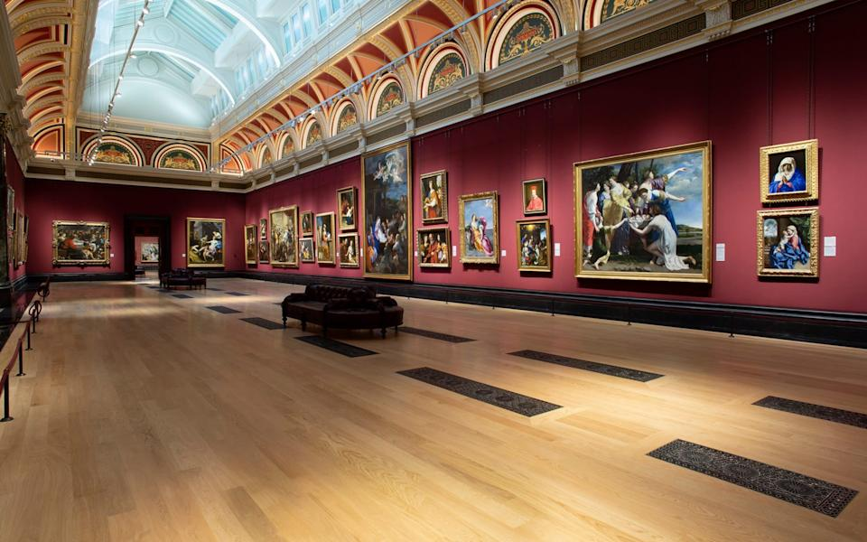 Room 32, at the National Gallery, will finally re-open after refurbishment - National Gallery