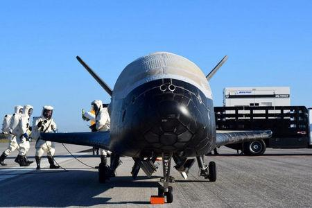 Mystery military spacecraft lands after two years in orbit