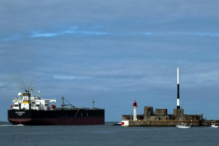 A planned environmental measure to limit speed, backed by France at the International Maritime Organization, means more ships would be needed just to meet old levels of demand (AFP/JOEL SAGET)