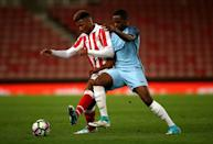 Tyrese Campbell, Manchester City