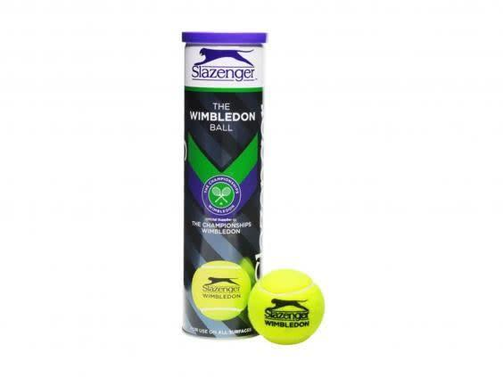 This tube of tennis balls may the closest you'll get to Wimbledon this year, but are durable enough to last you plenty of summers (Sports Direct)