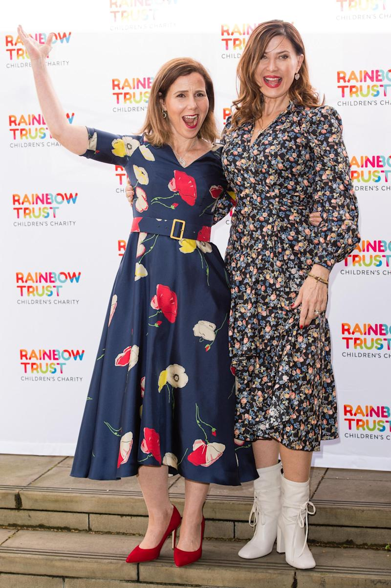 Sally Phillips and Ronni Ancona (Getty Images)