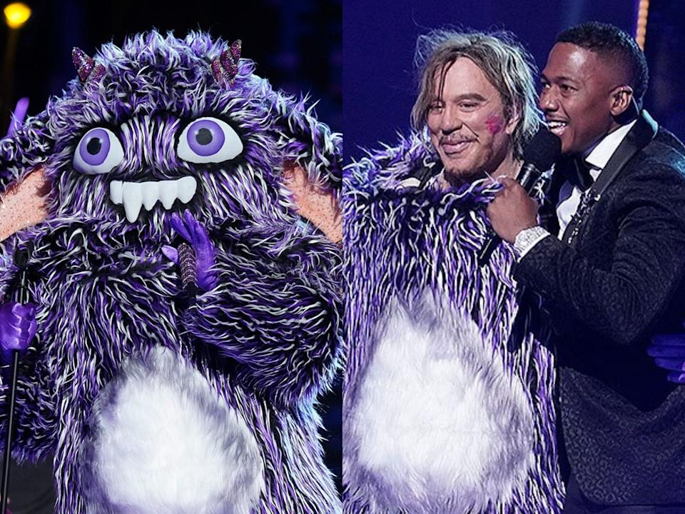 the masked singer mickey rourke