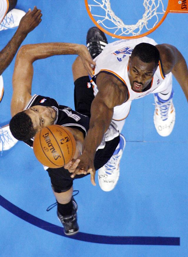 How Serge Ibaka went from 'done for the season' to playoff savior for the Thunder