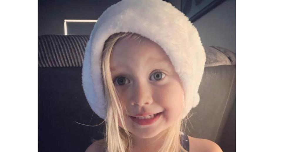 A photo of six-year-old Olivia Stevens who was killed after a buggy overturned in Victoria's east on Saturday afternoon. Source: Facebook