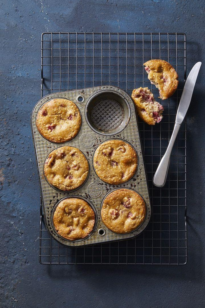 "<p>Cinnamon, ginger, honey, and fresh raspberries give these healthy muffins tons of flavor. Plus, you can make them ahead of time and stash them in the freezer!</p><p><em><a href=""https://www.goodhousekeeping.com/food-recipes/a30224798/very-berry-quinoa-muffins-recipe/"" rel=""nofollow noopener"" target=""_blank"" data-ylk=""slk:Get the recipe for Very Berry Quinoa Muffins »"" class=""link rapid-noclick-resp"">Get the recipe for Very Berry Quinoa Muffins »</a></em></p><p><strong>RELATED: </strong><a href=""https://www.goodhousekeeping.com/food-recipes/healthy/g4075/healthy-muffin-recipes/"" rel=""nofollow noopener"" target=""_blank"" data-ylk=""slk:21 Healthy Muffins That Taste as Good as Cupcakes"" class=""link rapid-noclick-resp"">21 Healthy Muffins That Taste as Good as Cupcakes</a><br></p>"