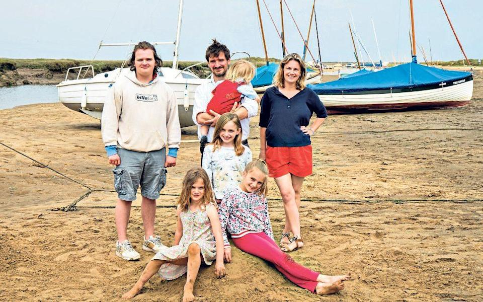 Relocators: Sybilla and family moved from Gloucestershire to Great Yeldham, Essex - Tony Buckingham