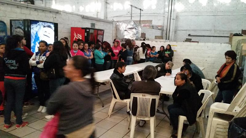 Mexican authorities have rescued 129 workers, including six children, who said they were exploited and physically and sexually abused at a garment factory run by South Koreans (AFP Photo/)