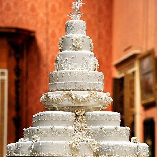 How much would you pay for a slice of the royal wedding cake. Photo: Getty