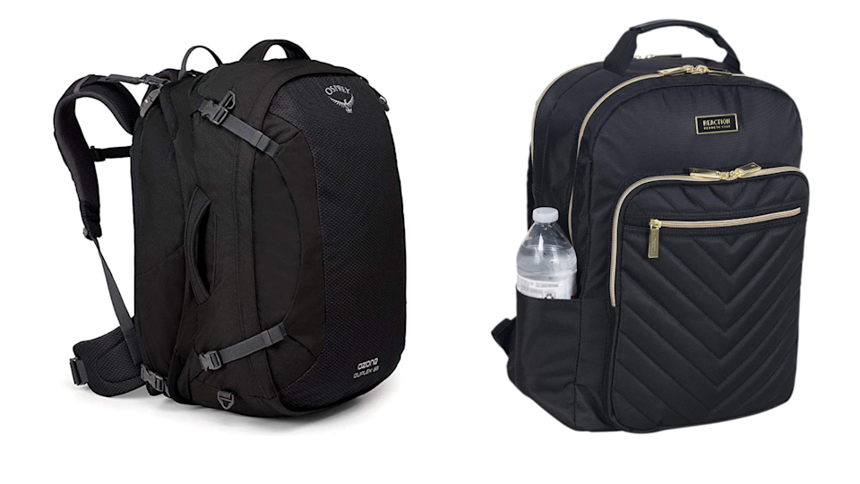 A spacious, organized backpack is a lifesaver.