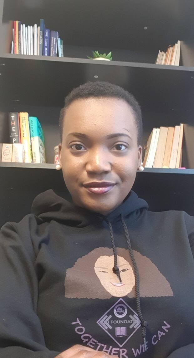 Towunmi Coker is the founder of the non-profit TCLI (Towunmi Coker Literary Initiative) Foundation. The organization is holding an event for mental health awareness amongst African immigrant women on May 29.  (Submitted by TCLI - image credit)