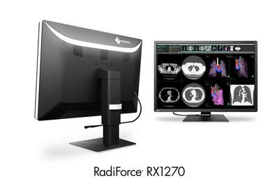 EIZO announced the release of the RadiForce RX1270, a 30.9-inch, super-high-resolution 12-megapixel color monitor ideal for multi-modality medical applications. The RX1270 is EIZO's highest resolution monitor at 12 megapixels (horizontal 4200 x vertical 2800 pixels). Consistent with EIZO's line of multi-modality monitors, the RX1270 automatically distinguishes between monochrome and color, ensuring faithfully reproduced images for any modality. EIZO will begin shipping worldwide in early 2020.