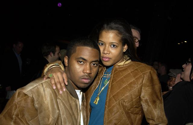 Nas and Kelis in 2002. (Photo: Theo Wargo/WireImage)