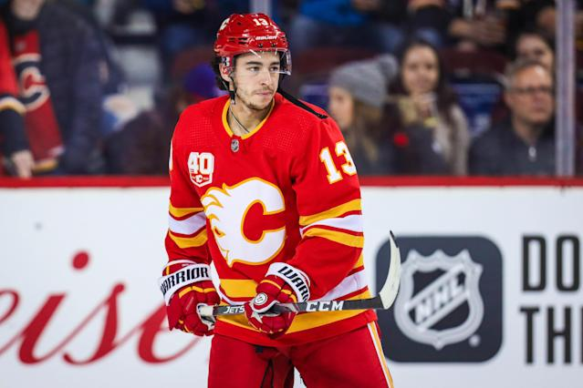 No time like the present to trade for Johnny Gaudreau. Mandatory Credit: Sergei Belski-USA TODAY Sports