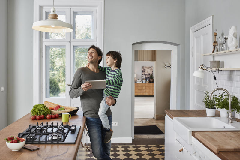 Here's how to upgrade your home into a smart home. (Photo: Getty Images)