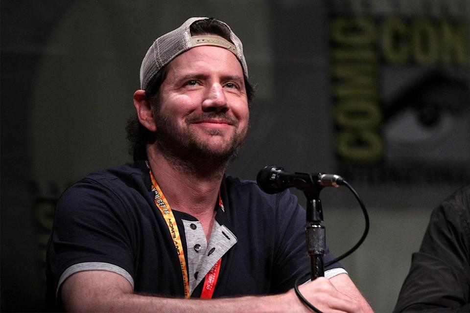 Actor Jamie Kennedy sits at a panel at San Diego Comic-Con in 2012