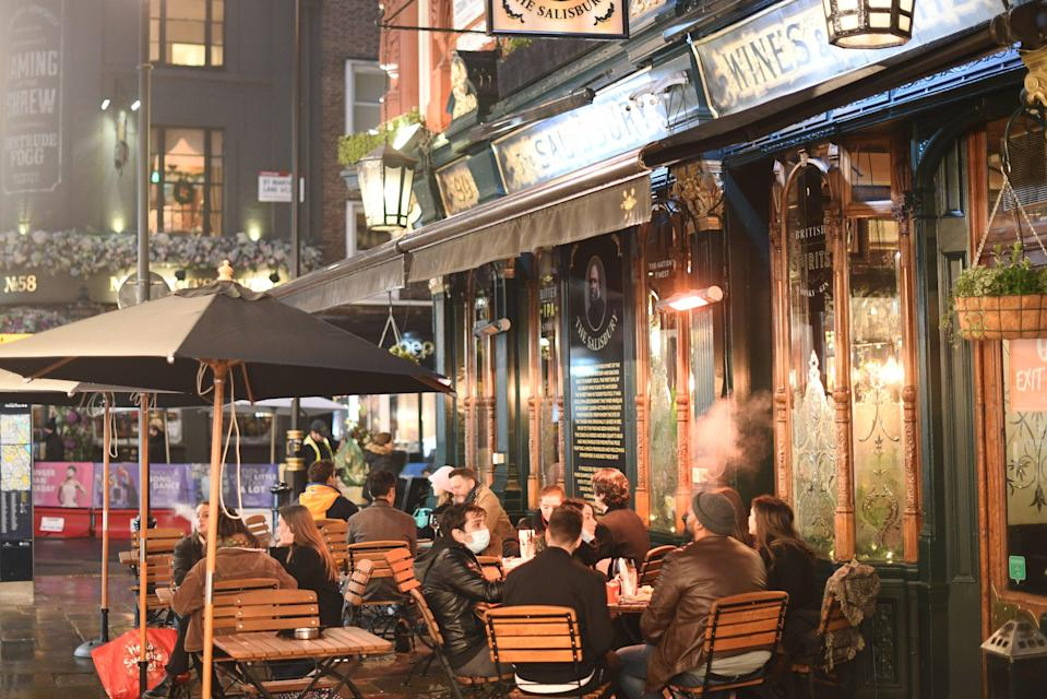 <p>Pubs in London and other Tier 3 areas can only provide food and drink as a takeaway service</p> (PA)