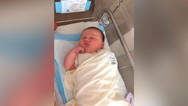 PHOTO: South Carolina parents Arthur Keisler and Cindy Richmond were shocked by their 14-pound newborn, Colin. (Courtesy Arthur Keisler and Cindy Richmond)