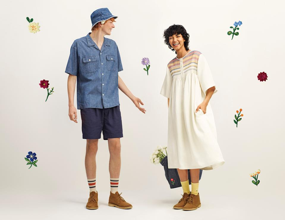 Uniqlo x JW Anderson SS21 collection. (PHOTO: Uniqlo)