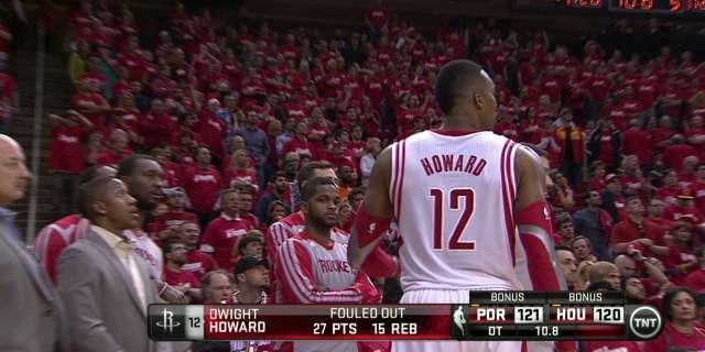 For Rockets to rise from rubble of Game 1 collapse, Dwight Howard will have to lead